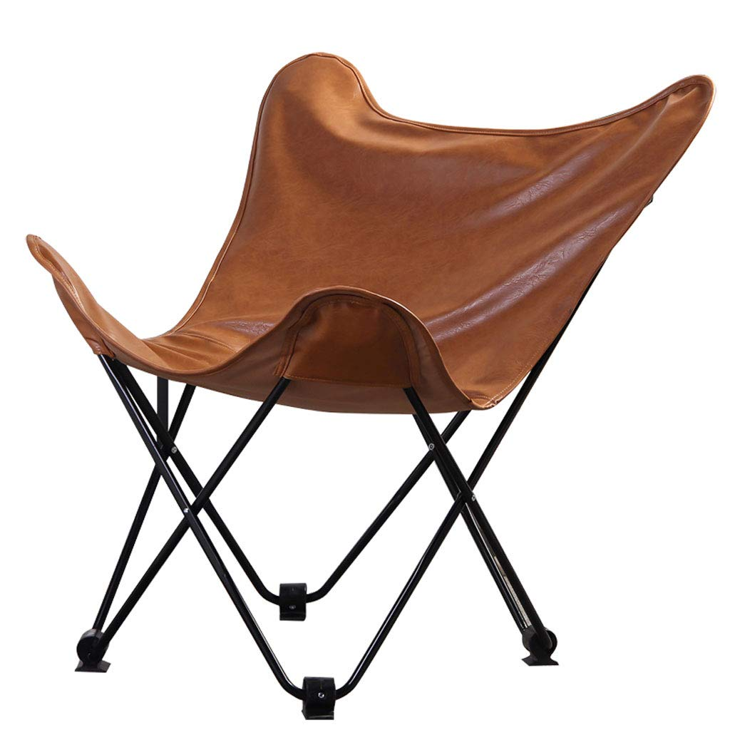 DUOER home Modern Minimalist Nordic Style Butterfly Chair