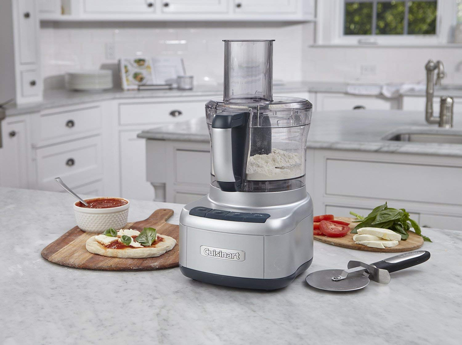 Cuisinart FP-8SV Elemental 8-Cup Food Processor
