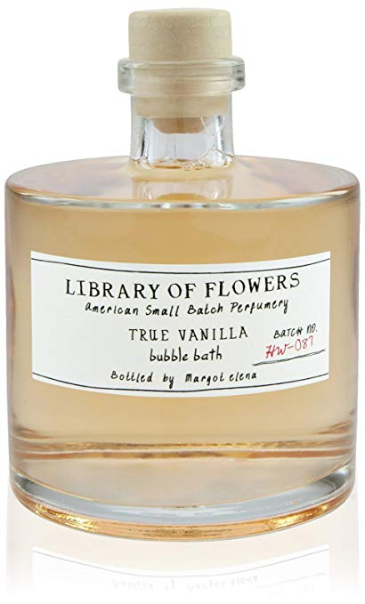 Library of Flowers Bubble Bath-True Vanilla