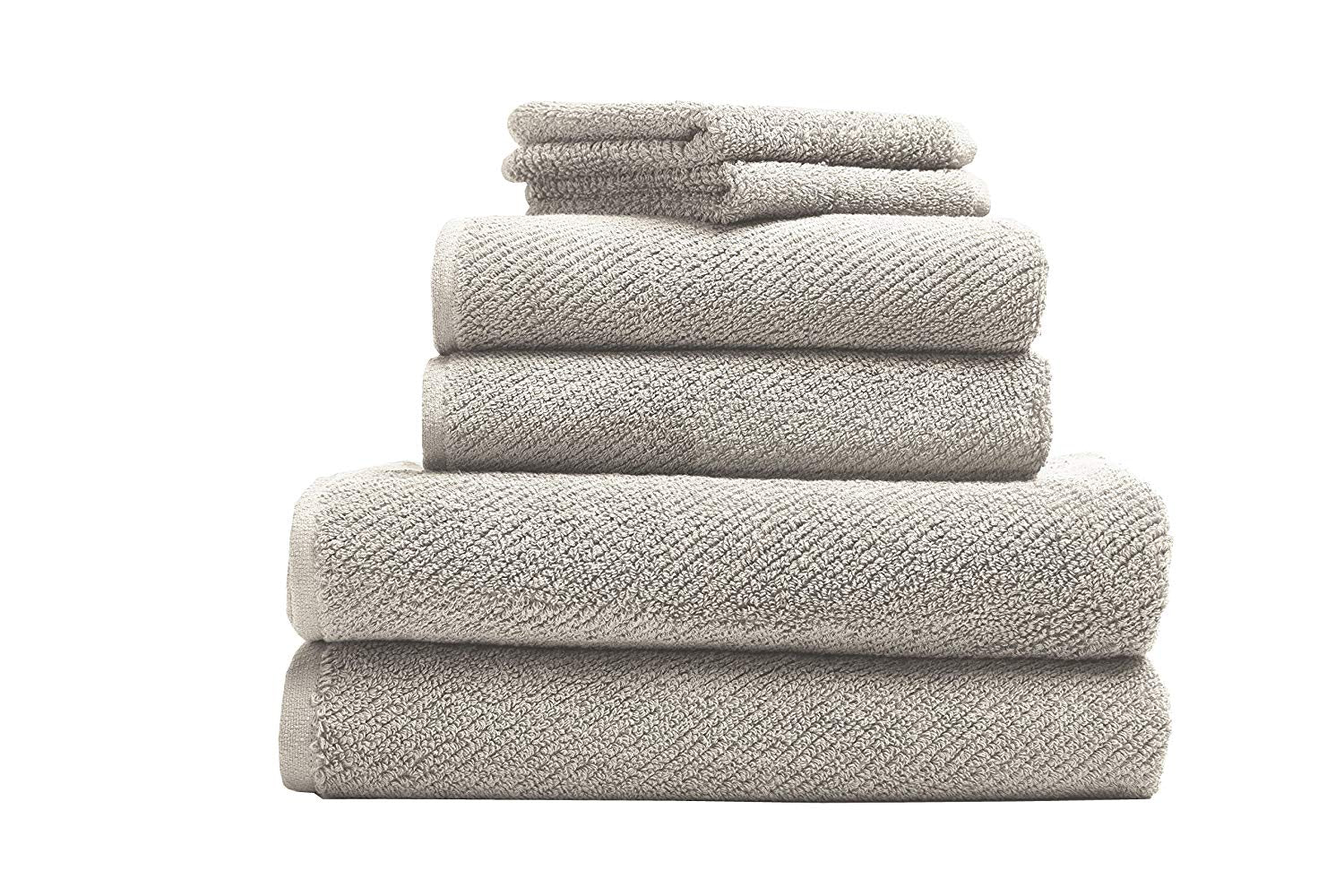 Coyuchi 1019024 6 Piece Organic Air Weight Towel Set