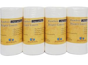 Bamboo Unscented Diaper Liners