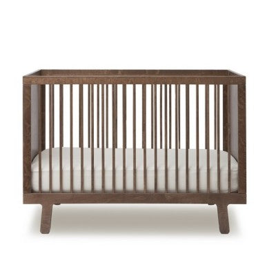 Oeuf Sparrow Crib Walnut