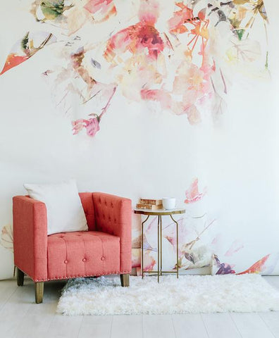 Spring Floral - Large Wall Mural