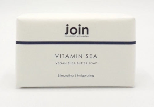 Join Vitamin Sea vegan soap bar seaweed shea butter made in England for Modern Craft