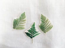 Load image into Gallery viewer, Sophie Clowders fern print botanical temporary tattoo for Modern Craft