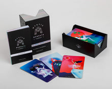 Load image into Gallery viewer, Mystic Mondays modern colourful tarot cards deck holographic foil edge for Modern Craft