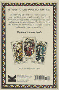 Tattoo Tarot deck cards Megamunden ink and intuition Marseille style for Modern Craft