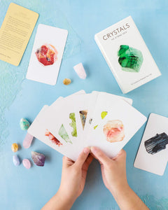 Crystals Stone deck oracle deck crystal energy healing cards for Modern Craft