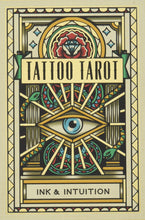 Load image into Gallery viewer, Tattoo Tarot deck cards Megamunden ink and intuition Marseille style for Modern Craft