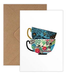 Brie Harrison willow cups ceramics card handmade in the UK for Modern Craft