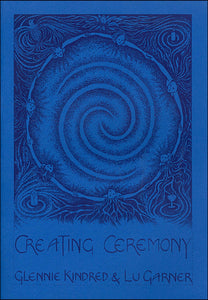 Glennie Kindred Lu Garner creating ceremony handmade illustrated book for Modern Craft