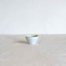 Load image into Gallery viewer, Duck Ceramics pistachio speckle glazed porcelain dipping bowl pot handmade in Brighton for Modern Craft