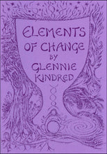 Load image into Gallery viewer, Glennie Kindred handmade illustrated book elements of change for Modern Craft