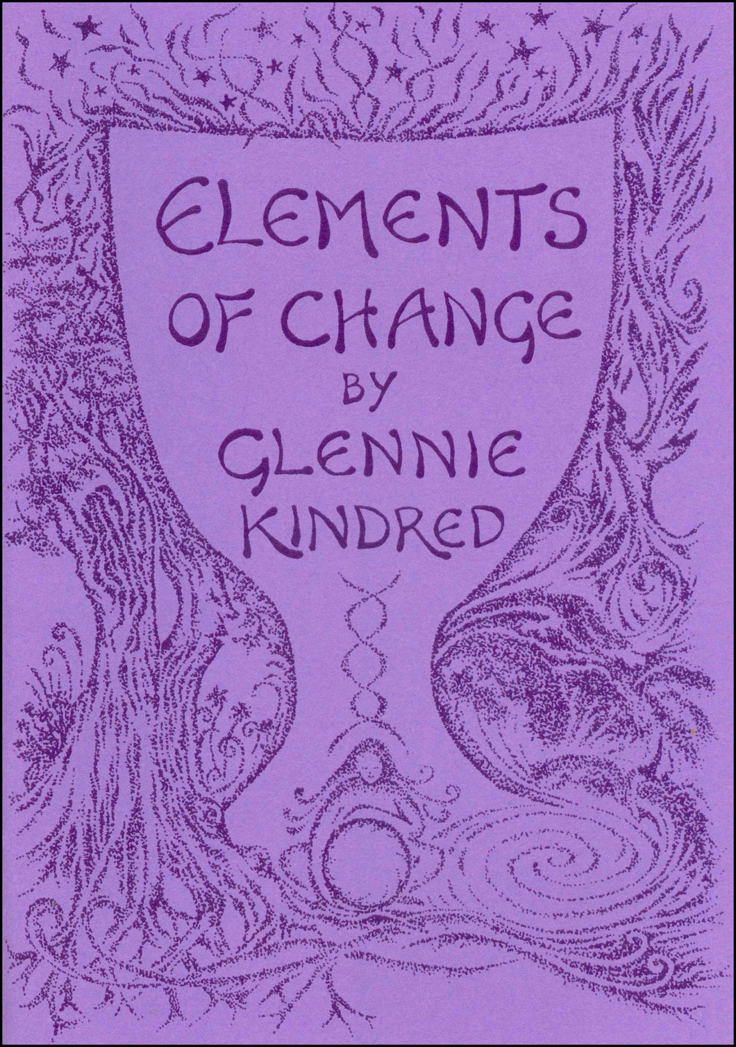 Glennie Kindred handmade illustrated book elements of change for Modern Craft