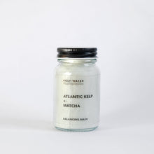 Load image into Gallery viewer, Holy Water Apothecary balancing face mask for combination skin. Hand made with atlantic kelp, matcha and organic essential oils. Made in Devon for Modern Craft.