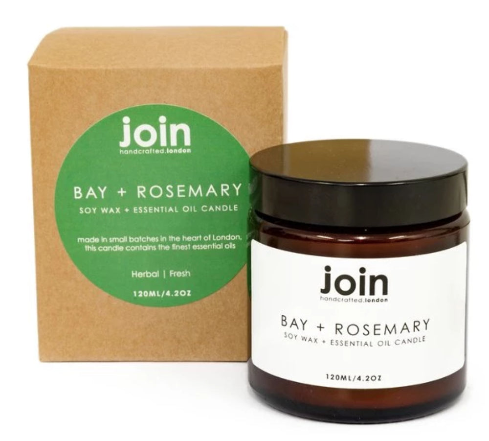 Join handmade candle in Bay and Rosemary for Modern Craft