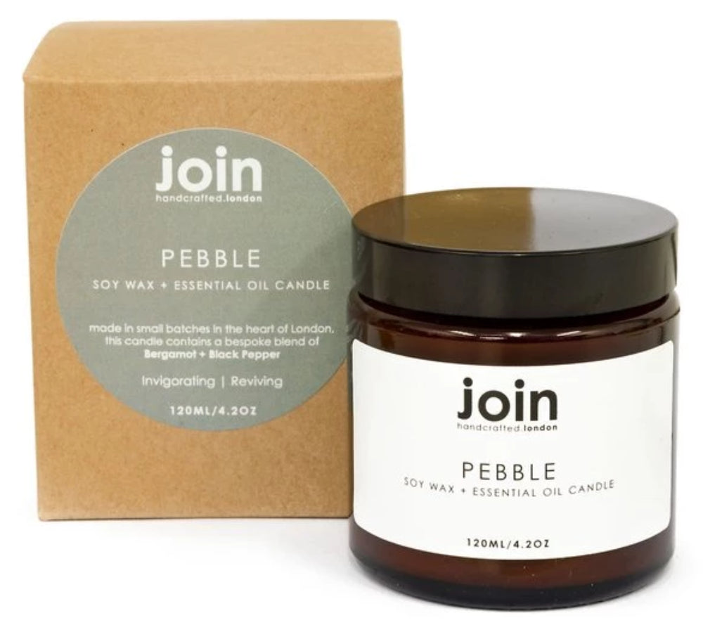 Pebble Vegan Candle | Join
