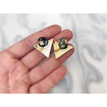 Load image into Gallery viewer, Geometric Deco Stud Earrings | Rosa Pietsch