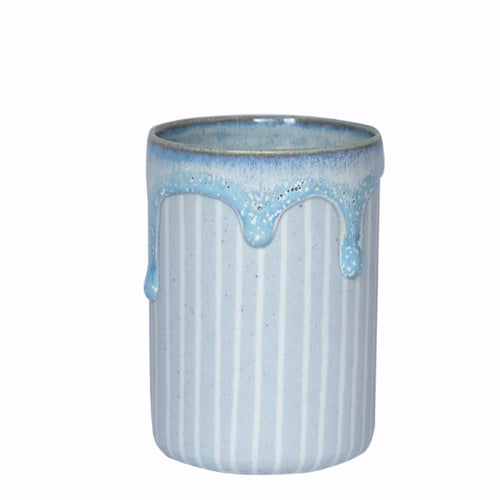 Duck Ceramics ultramarine cobalt glazed porcelain tumbler vessel pot handmade in Brighton for Modern Craft