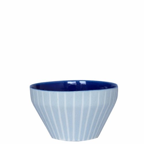 Duck Ceramics porcelain ultramarine cobalt dipping bowl pot handmade in Brighton for Modern Craft