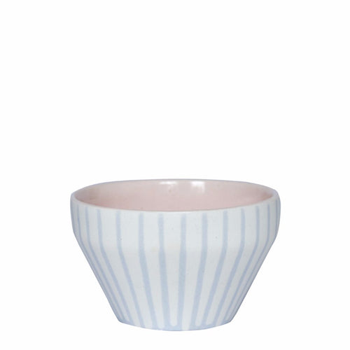 Duck Ceramics pink glazed handmade porcelain dipping bowl pot made in Brighton for Modern Craft