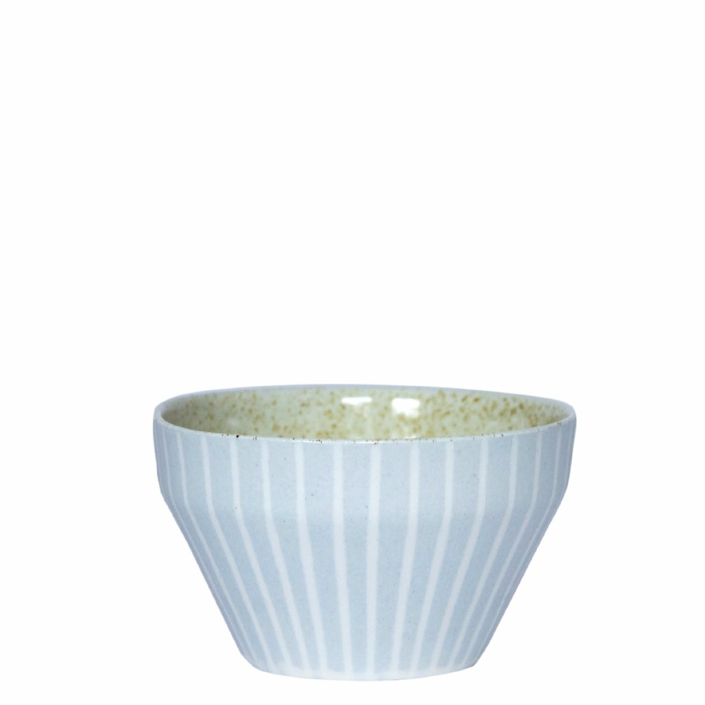 Duck Ceramics pistachio speckle glazed porcelain dipping bowl pot handmade in Brighton for Modern Craft