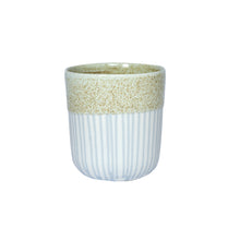 Load image into Gallery viewer, Duck Ceramics pistachio glazed porcelain tumbler vessel pot handmade in Brighton for Modern Craft