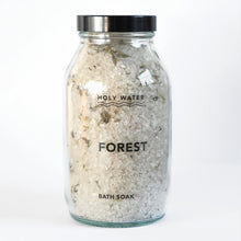 Load image into Gallery viewer, Holy Water Apothecary organic forest bath salts with essential oils and foraged moss hand made in Devon for Modern Craft