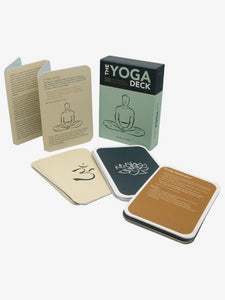 The Yoga Deck guidebook and individual cards shopmoderncraft.com
