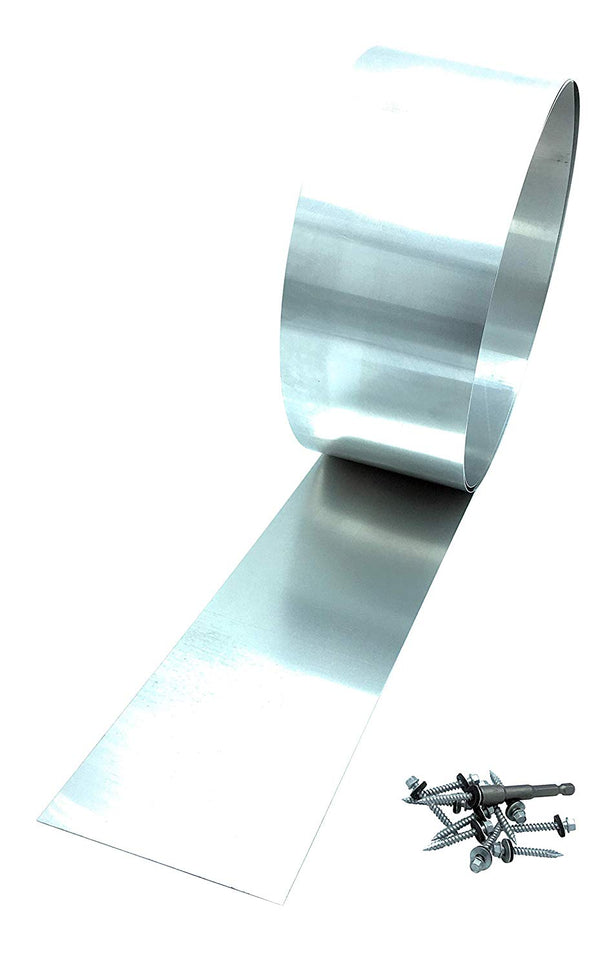 Mill Finish Aluminum  Flashing Rolls- ( 24 gauge) 10 FT Long