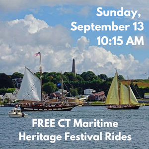 Sunday, September 13, 10:15 AM Free Boat Ride