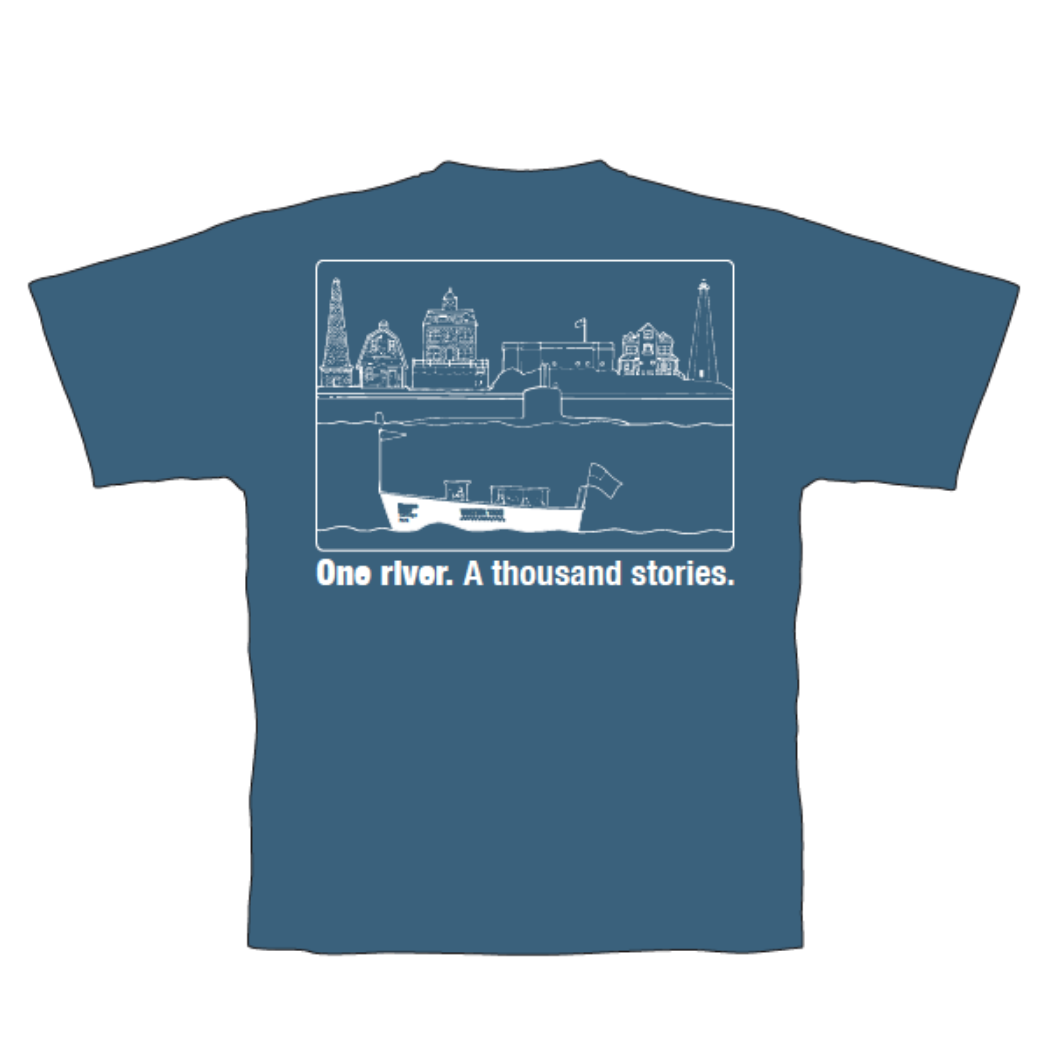 One River. A Thousand Stories. TRHP T-Shirt