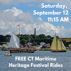 Saturday, September 12, 11:15 AM Free Boat Ride