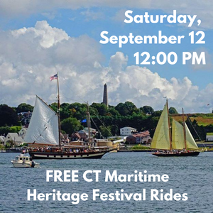 Saturday, September 12, 12:00 PM Free Boat Ride