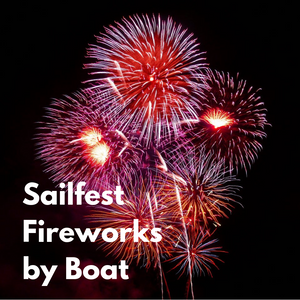 Sailfest Fireworks by Boat