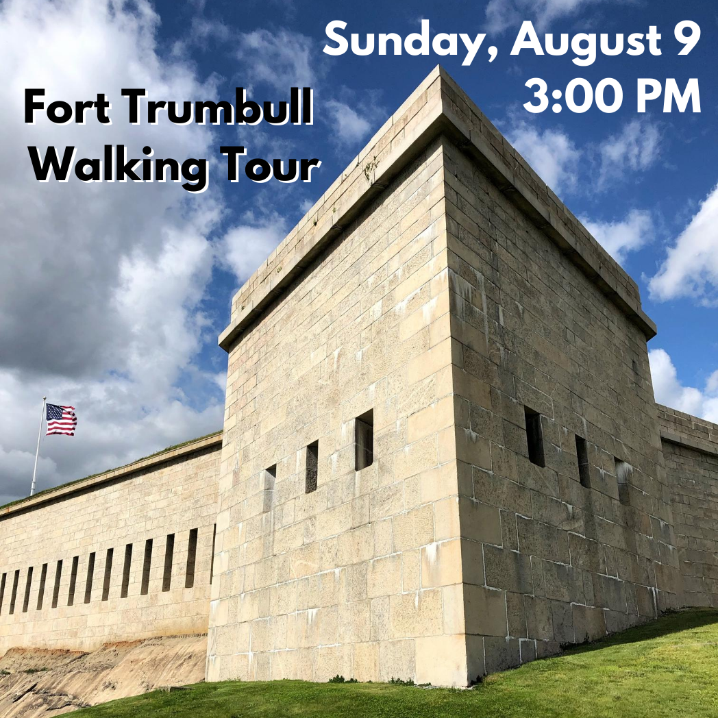 Fort Trumbull Walking Tour, Sunday, August 9 at 3 PM (Free to 2020 Water Taxi riders & season pass holders)
