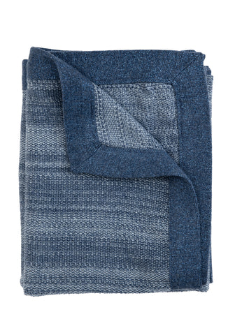 TweedStitch Baby Blanket, blue