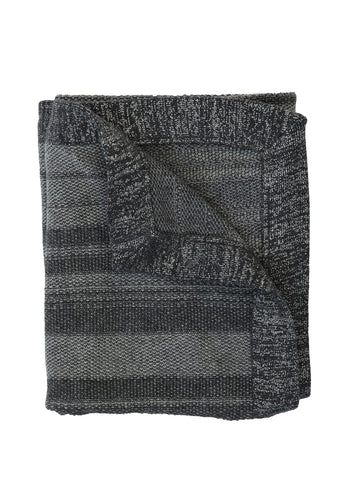 TweedStitch Baby Blanket, grey