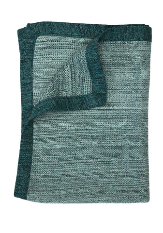 TweedStitch blanket, green