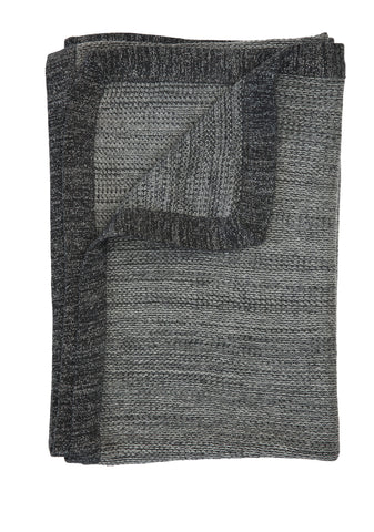 TweedStitch blanket, grey