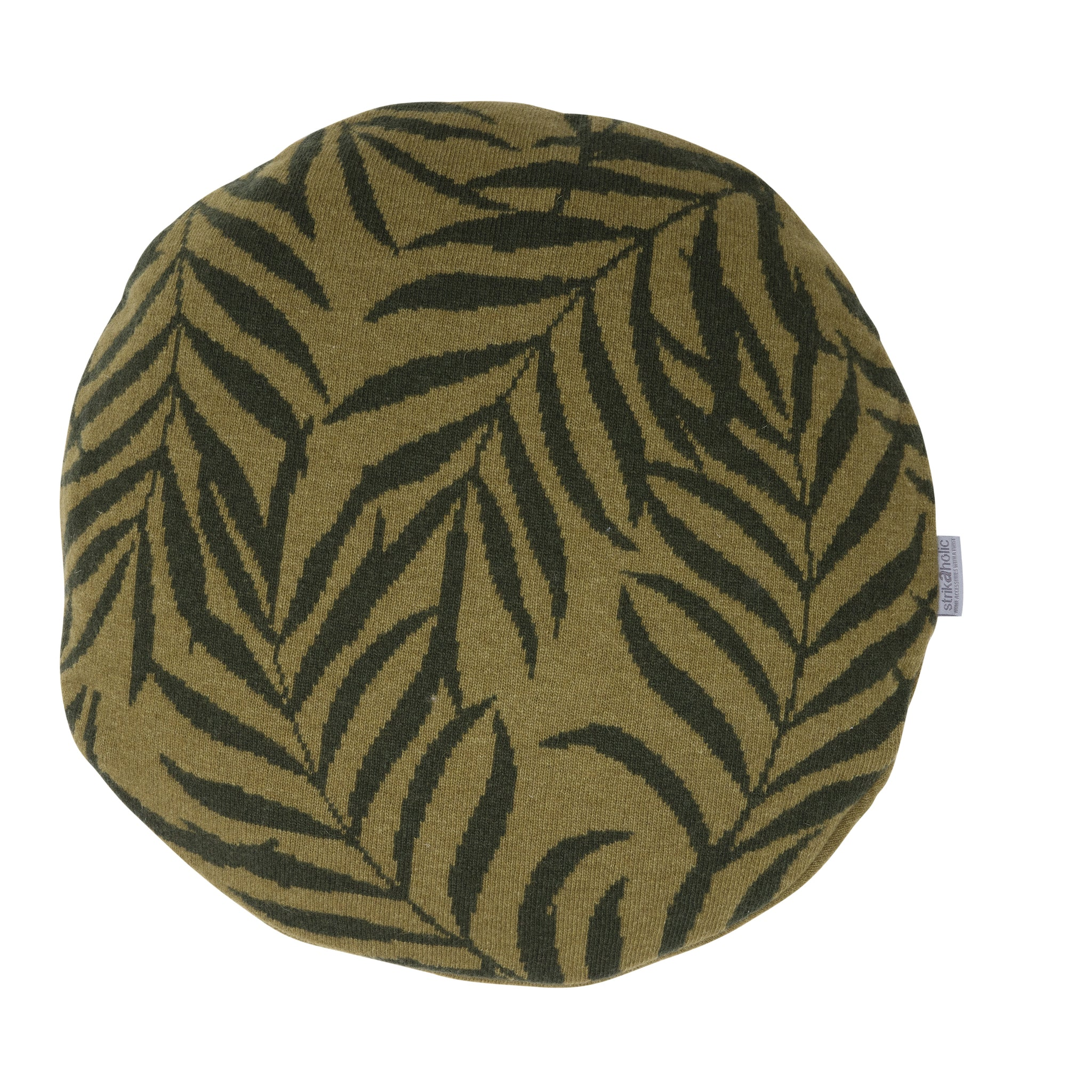 Leaf cushion 2C, green