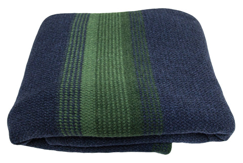 ANNI blanket, blue/grass