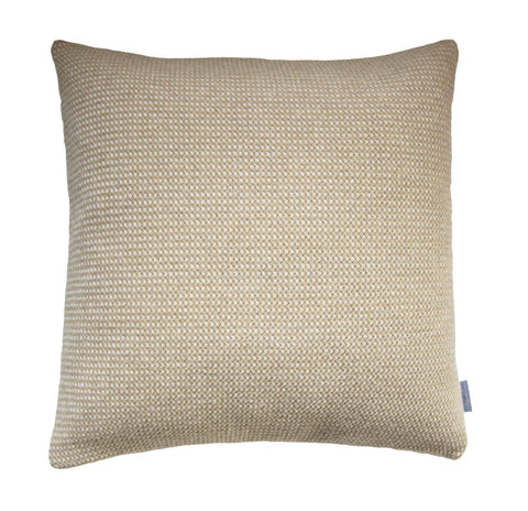 Basket Weave cushion, taupe