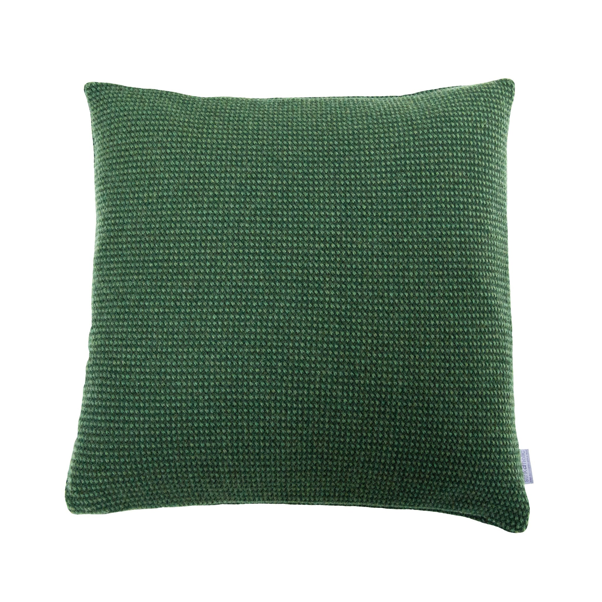 Basket Weave cushion, grass