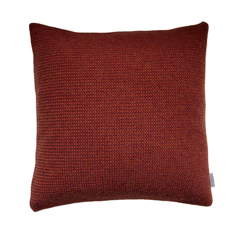 Basket Weave cushion, vineyard