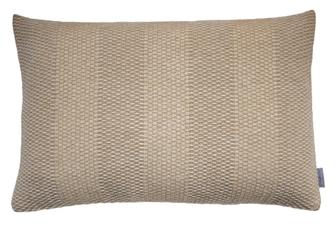 Weave Knit cushion, taupe