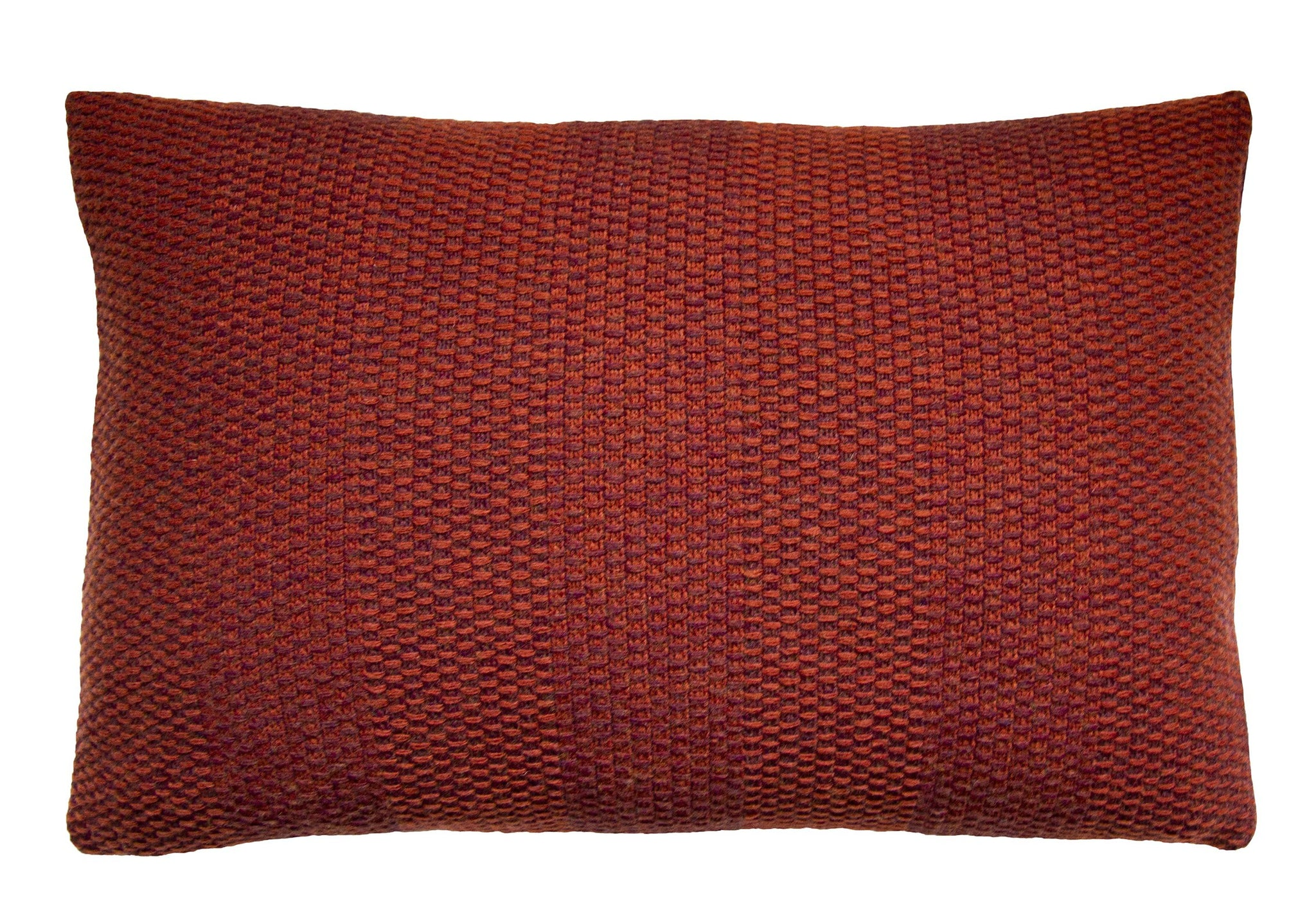 Weave Knit cushion, vineyard