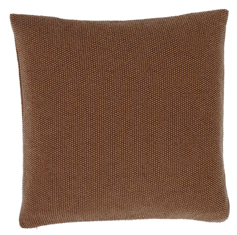 SeedStitch cushion, brown/copper