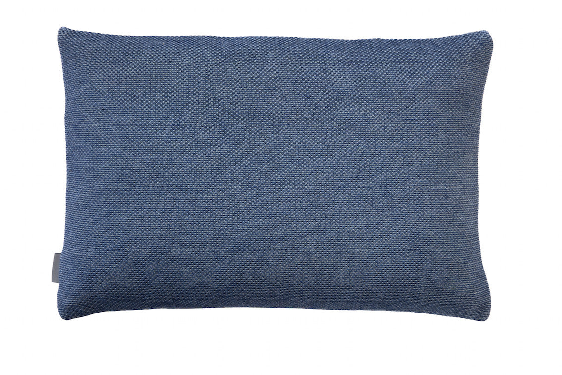 Beads cushion, blue, 40X60cm, back
