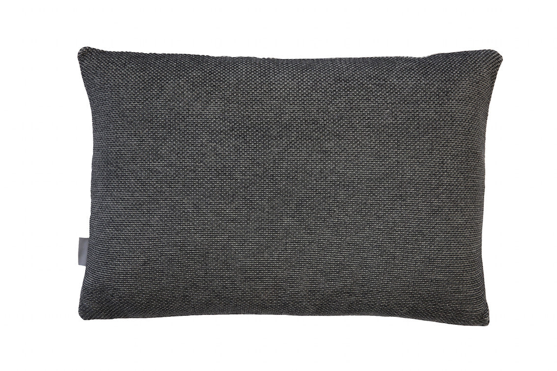 Beads cushion, grey, 40X60cm, back